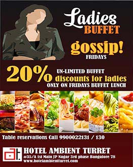 Business lunch offer